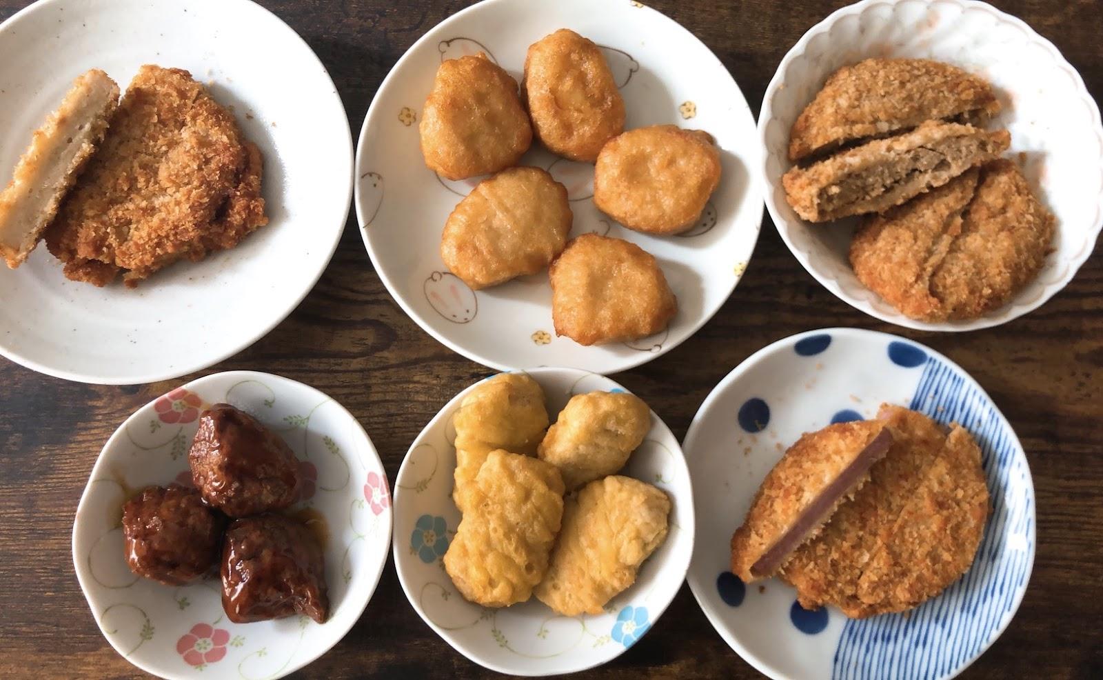 伊藤ハムの「まるでお肉!大豆ミート」シリーズ
