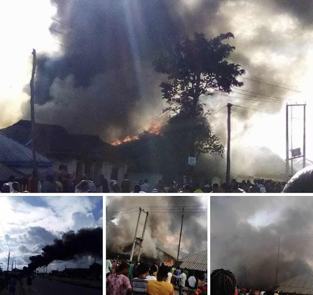 Properties worth millions destroyed in Saturday's Elele Fire outbreak
