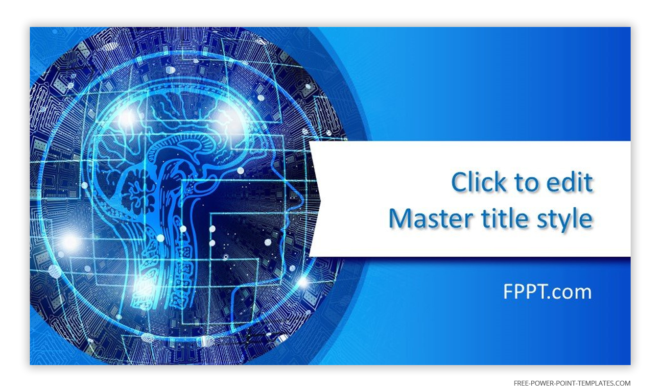 This introduction slide features an image of the nervous system on top of a circuit board.