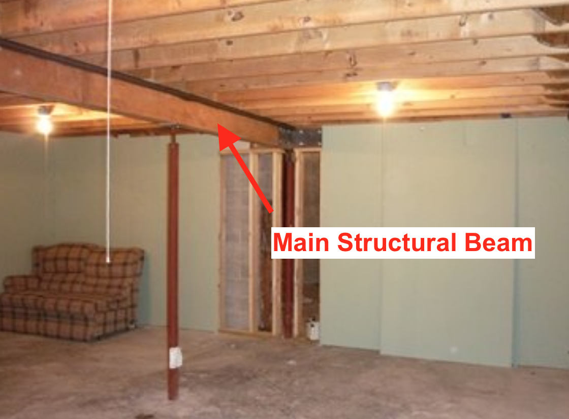 main structural beam