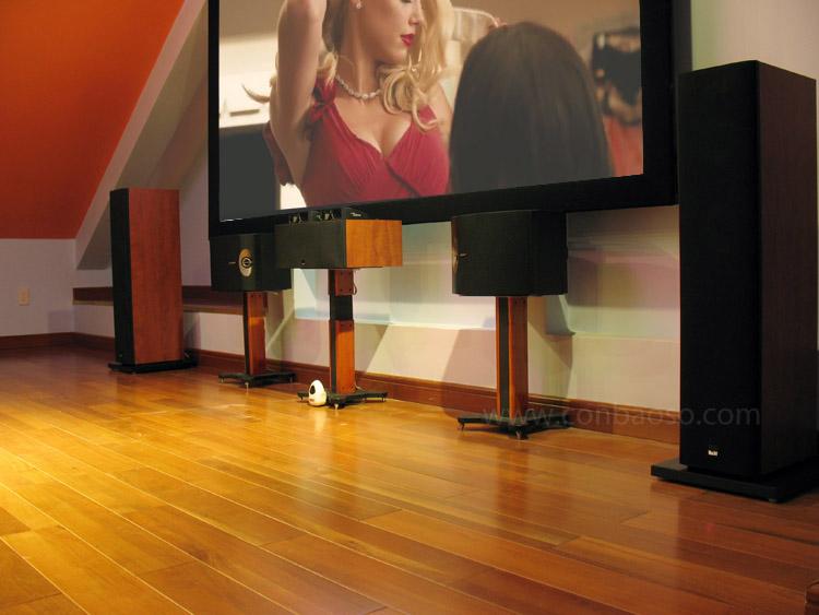 lắp đặt phòng chiếu phim 3D tại gia
