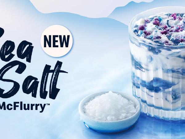 Menu Baru McDonald's Sea Salt McFlurry & Hershey's Sundae Kini Kembali Lagi!