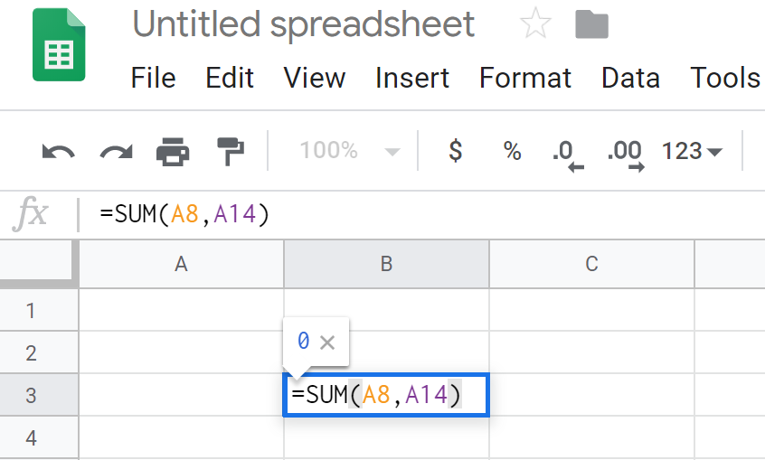 function Google Sheets