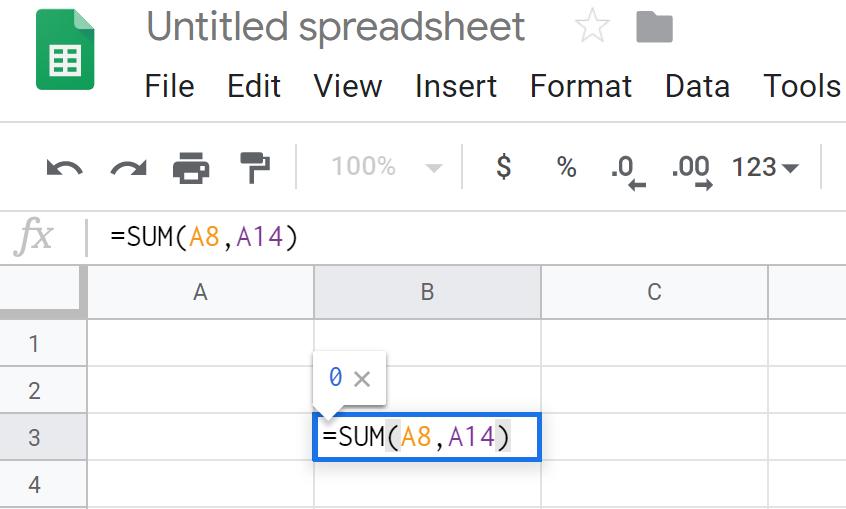 function Google Sheets