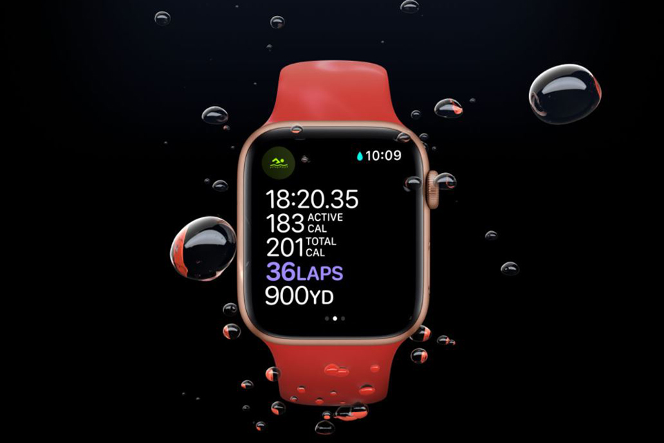 Apple Watch Series 6 40mm (GPS Bản Nhôm Dây Cao Su) NEW