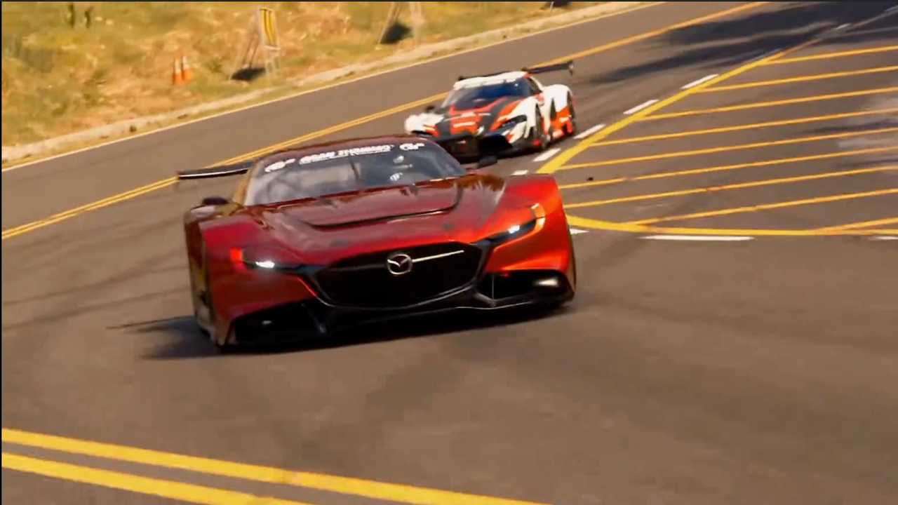 "Gran Turismo 7. (Foto: Reprodução/Youtube/PlayStation)<span class=""-mobiledoc-kit__atom""></span>"
