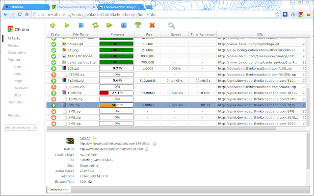 download manager for chrome chrono download manager beta lets you ...