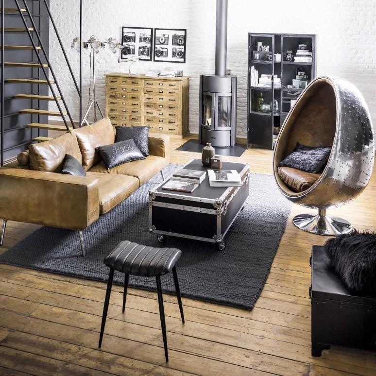 mobilier de style déco industriel