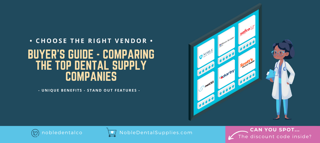 Comparing the top dental supply companies