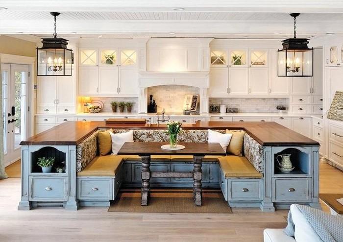 Thiết kế nội thất thông minh phòng bếp