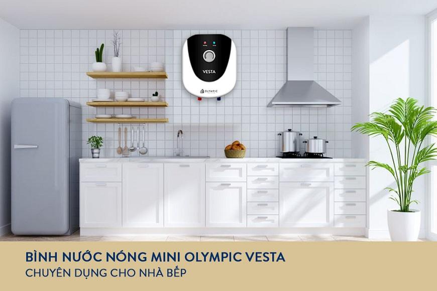 Bình nóng lạnh Olympic Vesta - món quà ý nghĩa cho những người nội trợ