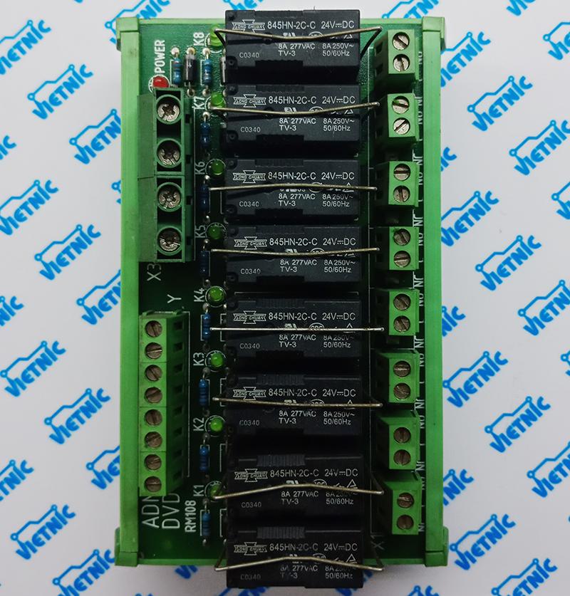 Module relay 8 kênh - 24VDC