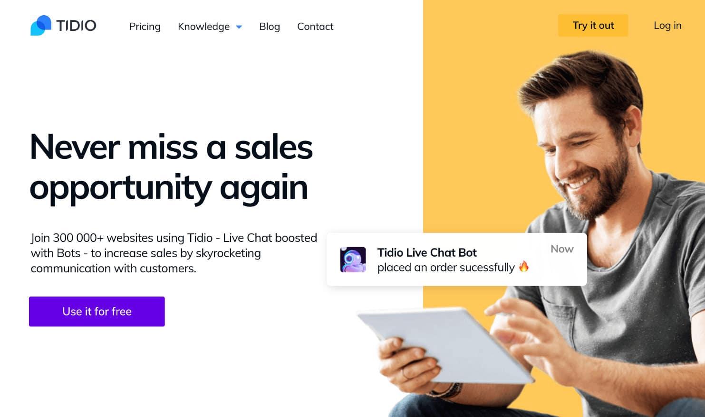 Chatbots Tidio