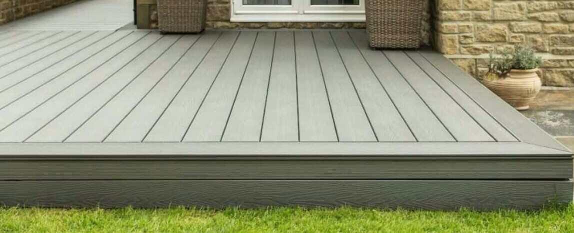 pour concrete very deck