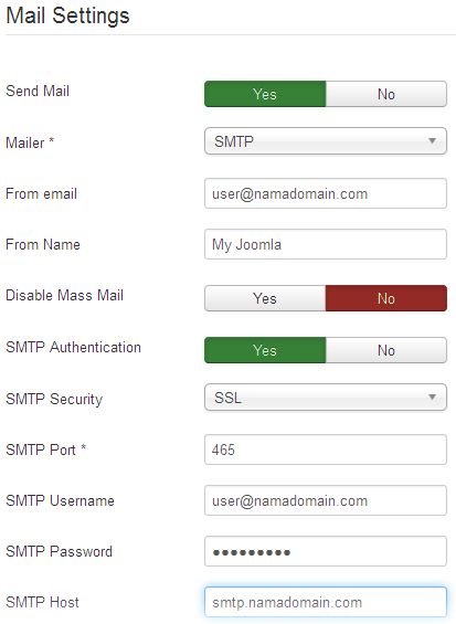 Tutorial Setting SMTP Mail Pada Joomla