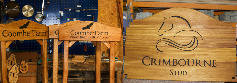 Pick from a range of high-quality timbers for your next farm or estate signs.