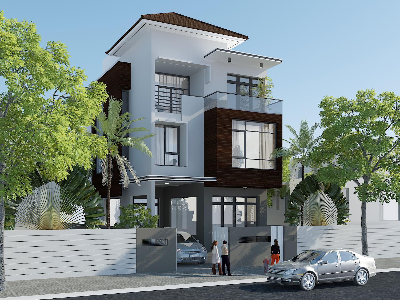 Kết quả hình ảnh cho thiết kế nhà phố