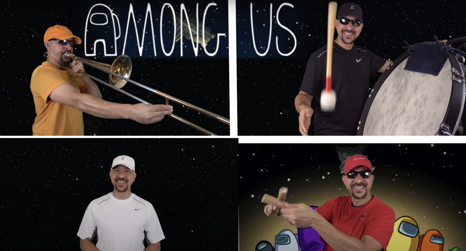 Among Us Recreated with instruments