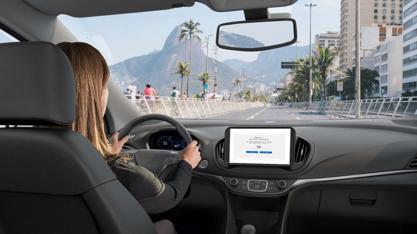 Connected driving experince