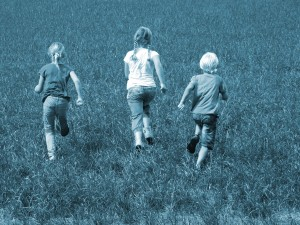 Blauw.kinderen