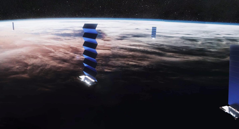 Image result for starlink satellinte