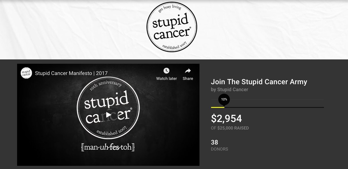stupid-cancer-army-causevox
