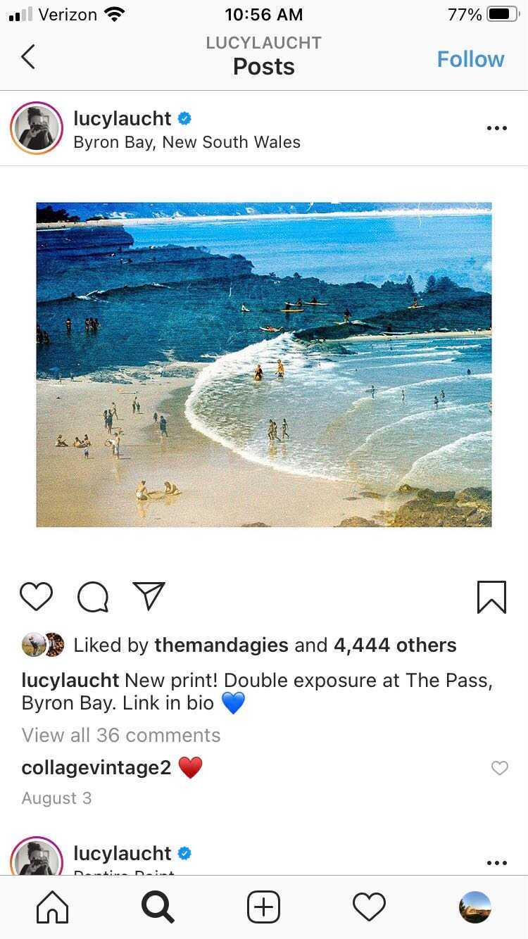 lucylaucht travel insta