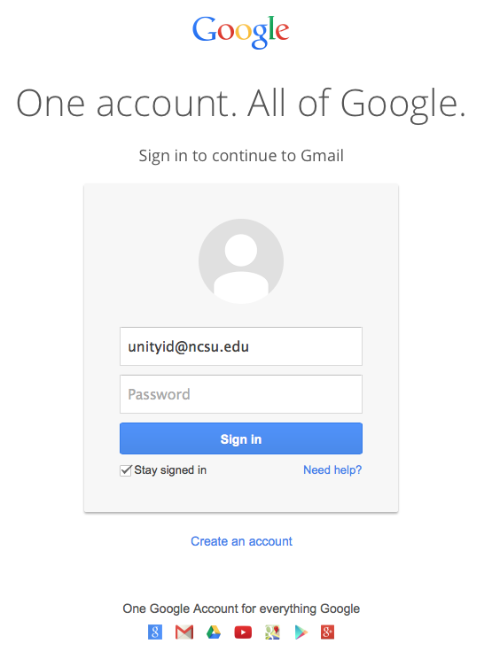 Unityid Ncsu Edu Google Is Initiating This Change To Provide A Consistent Login Experience And Better Protect Users Against Phishing S