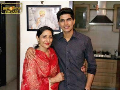 shubman-gill-with-mother