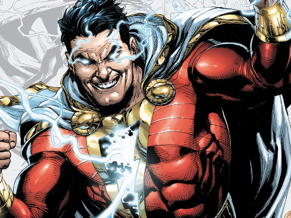 shazam - one of the most powerful DC character