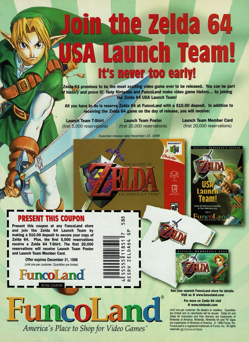 Image result for funcoland ocarina of time