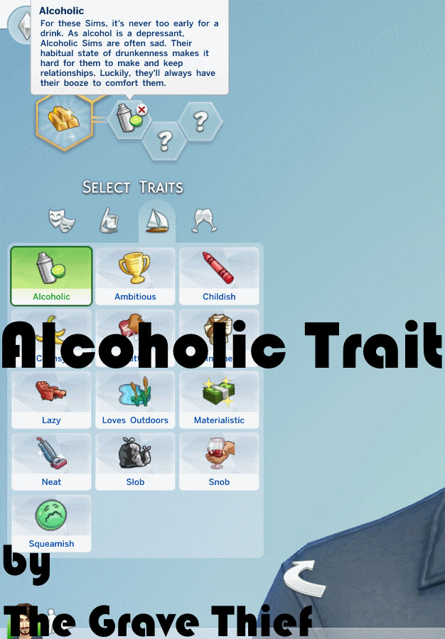 Trait mod - Alcoholic