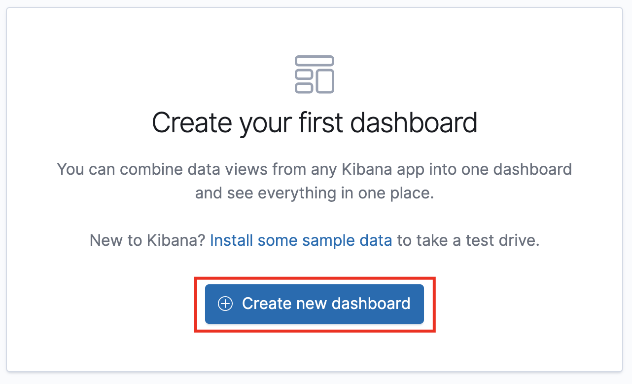 Creating your first dashboard message