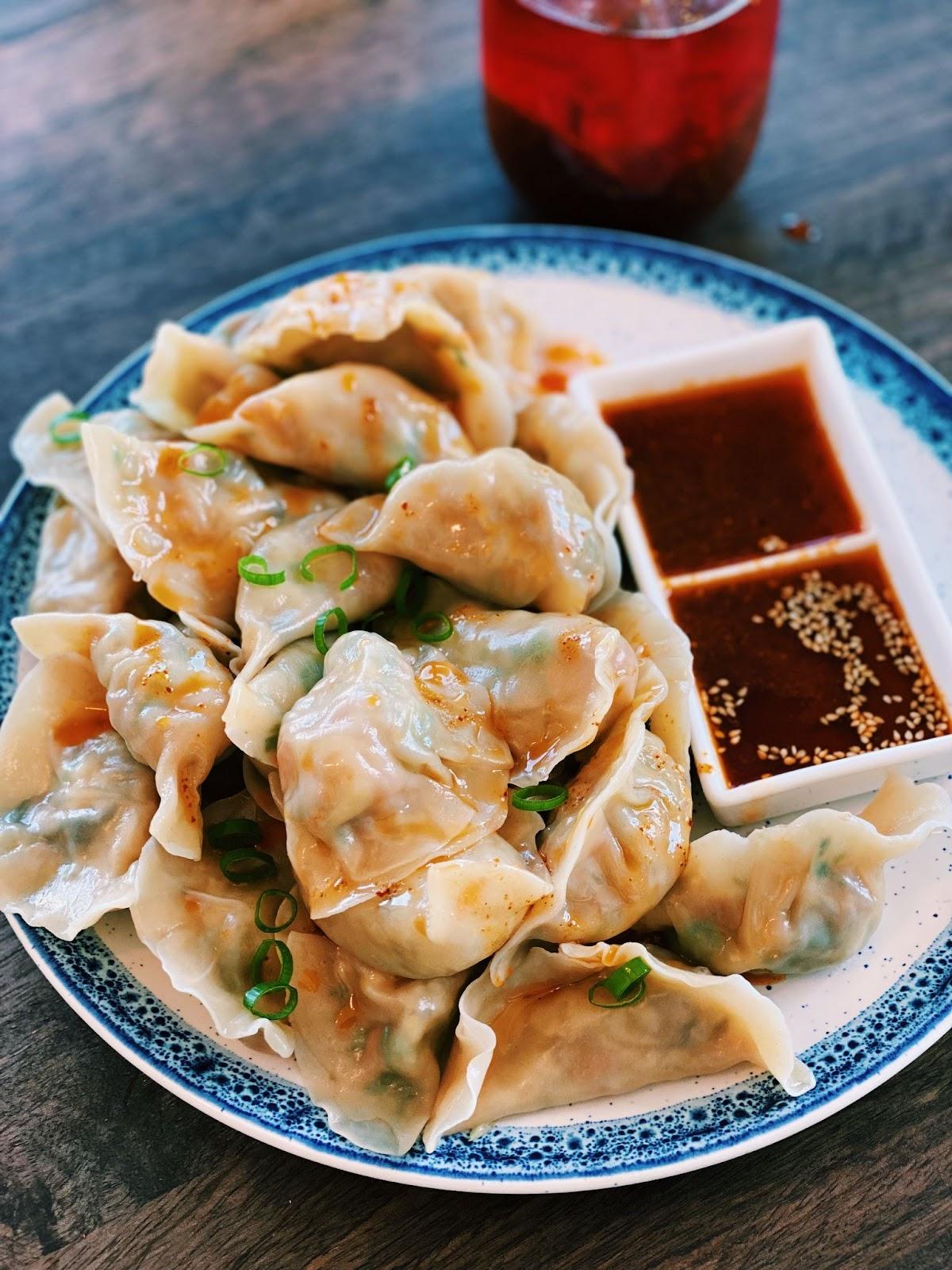 Vegetarian Dumplings (EASY & Healthy!)