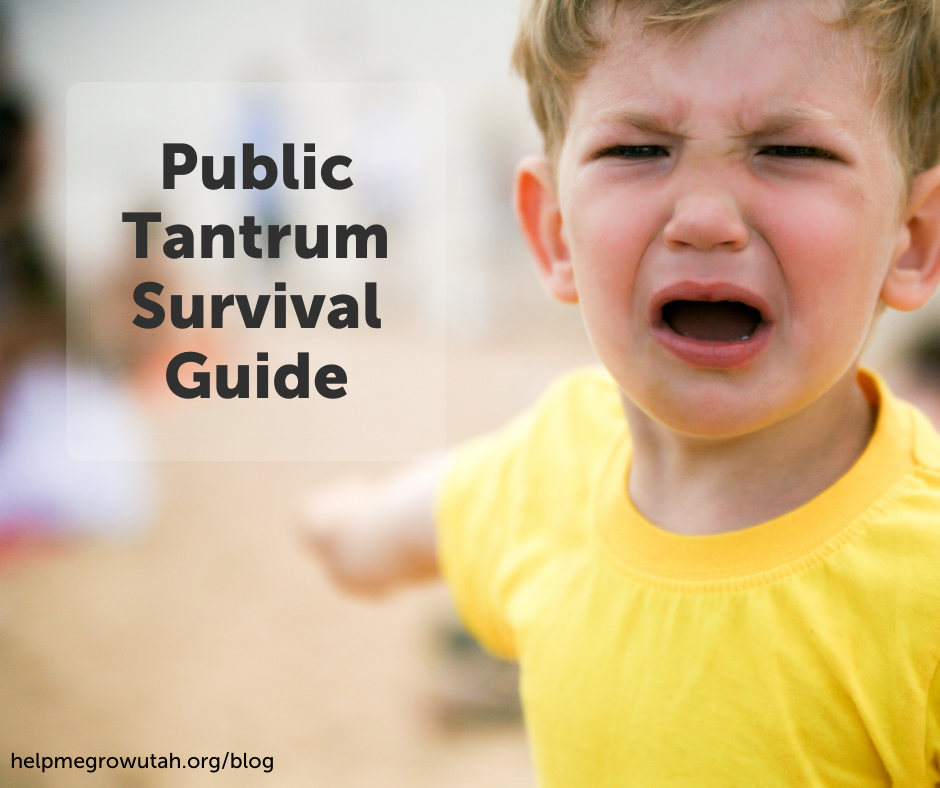 Public Tantrum Survival Guide