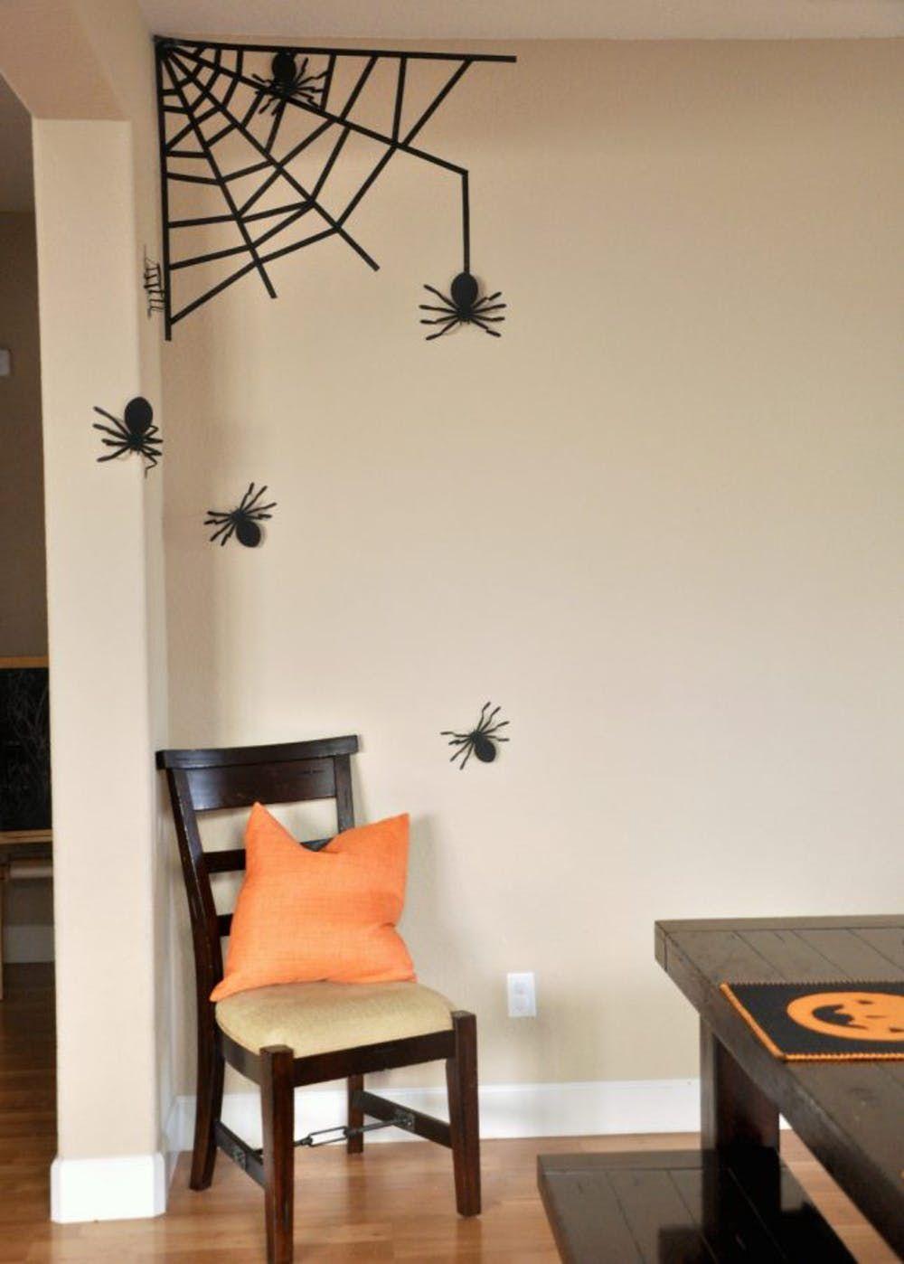 DIY Halloween Spooky Spiders