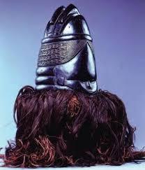 Bundu Mask, Sande Society, Mendes People. Wood cloth and fiber