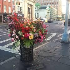 Meet The Florist-Bandit Who's Been Stealthily Beautifying New York's Public  Spaces | Vogue