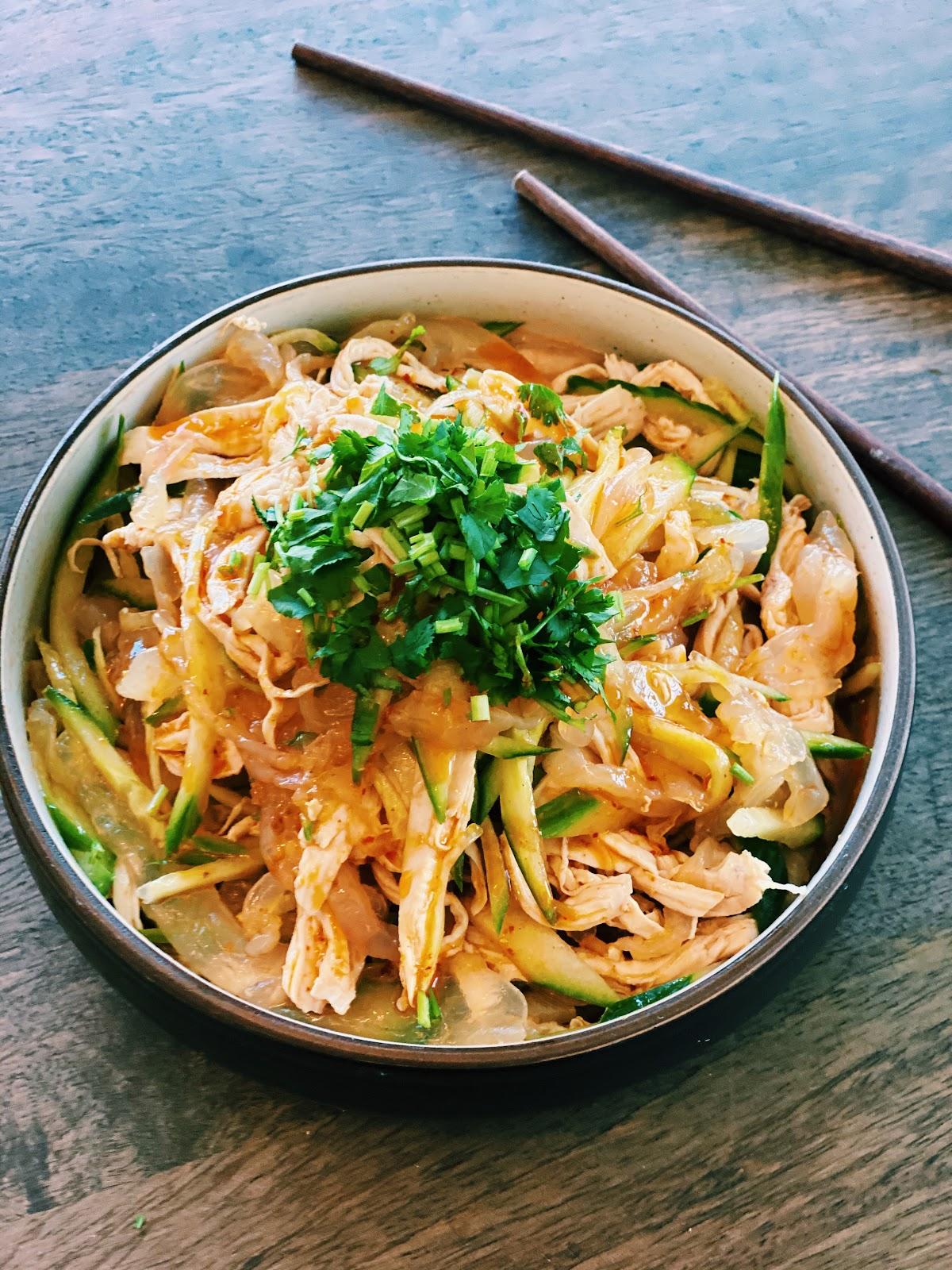 Spicy Jellyfish Salad Healthy