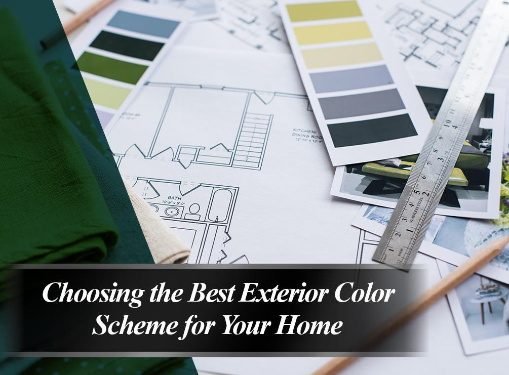 Choosing the Best Exterior Color Scheme for Your Home