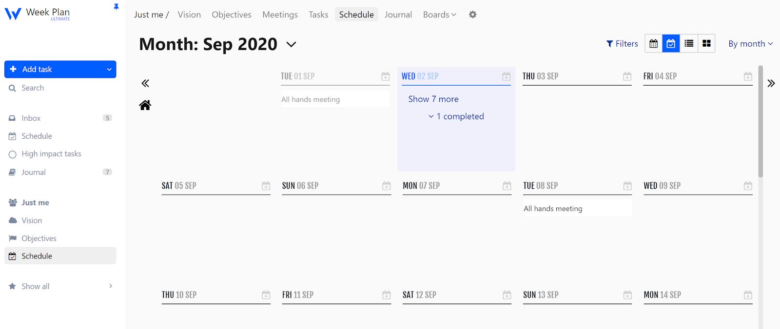 Week-Plan-Work-Planner