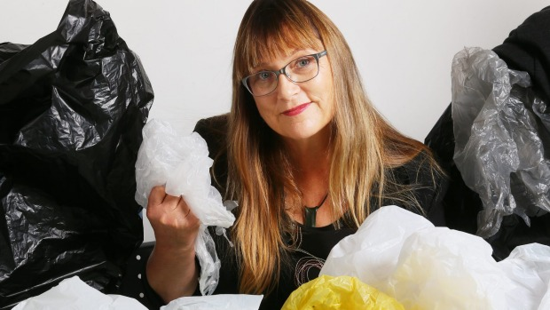 Green Party MP Denise Roche wages war against single use plastic bags.