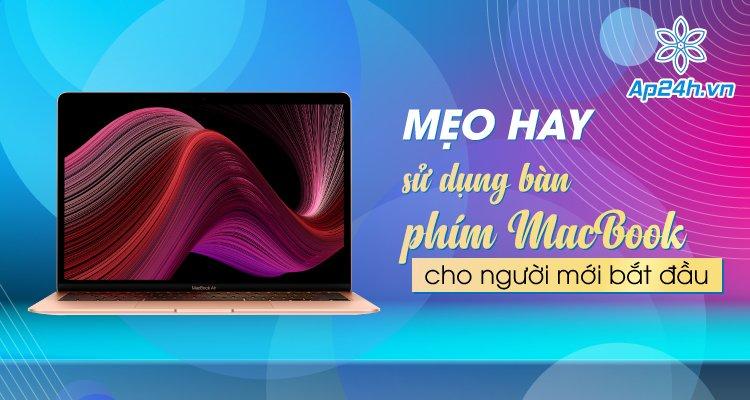 sử dụng bàn phím MacBook