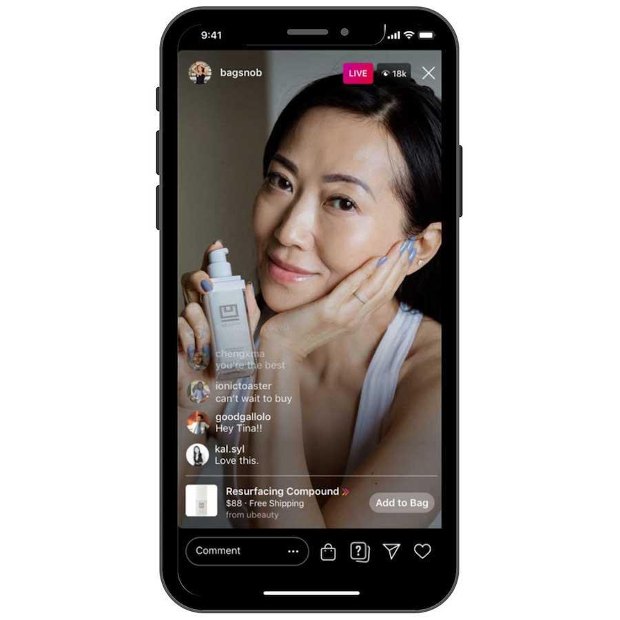 bagsnob go live mobile