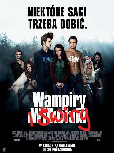 Przód ulotki filmu 'Wampiry i Świry'
