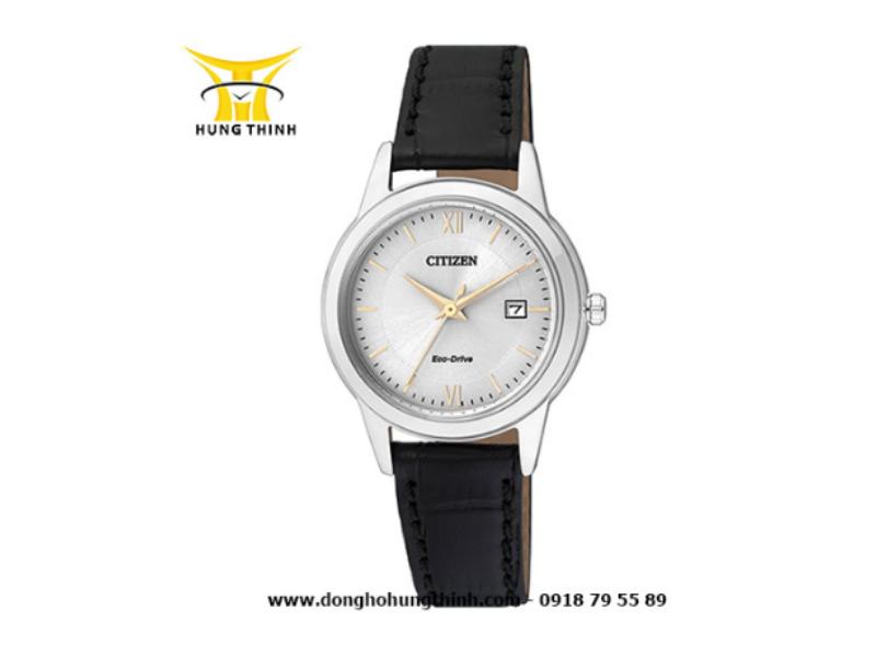Chiếc đồng hồ Citizen Eco drive nữ dây da này không cần thay pin, có pin dự trữ năng lượng lên đến 8 tháng!