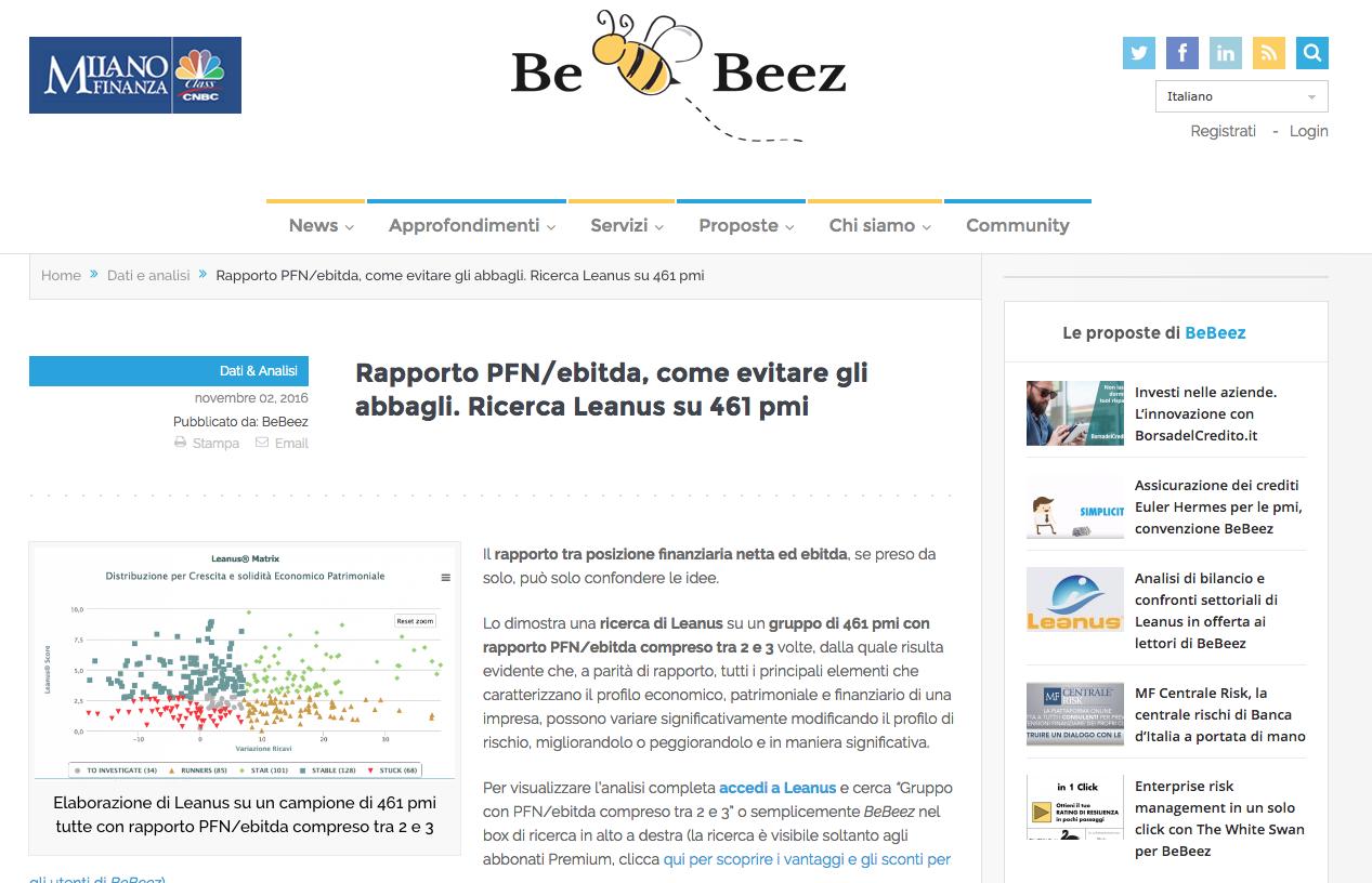 per restare informato registrati alla newsletter su www.bebeez.it