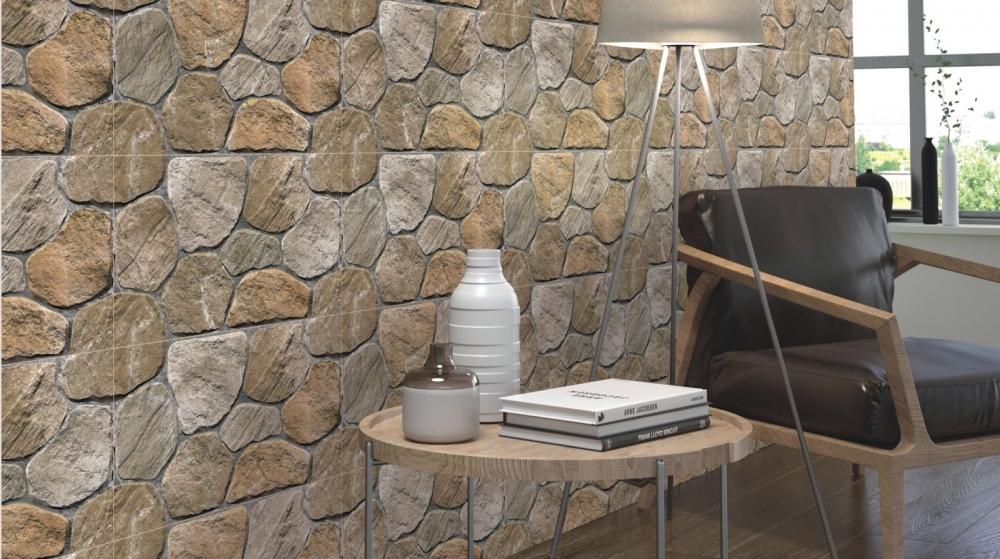 Gạch ốp tường với thiết kế rất độc đáo