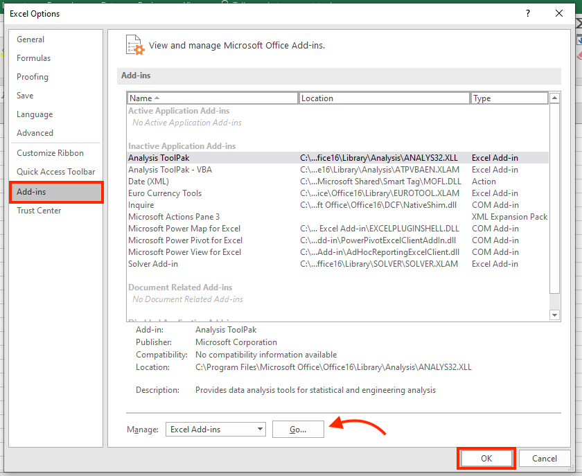 how to find excel solver add-ins to use solver in excel