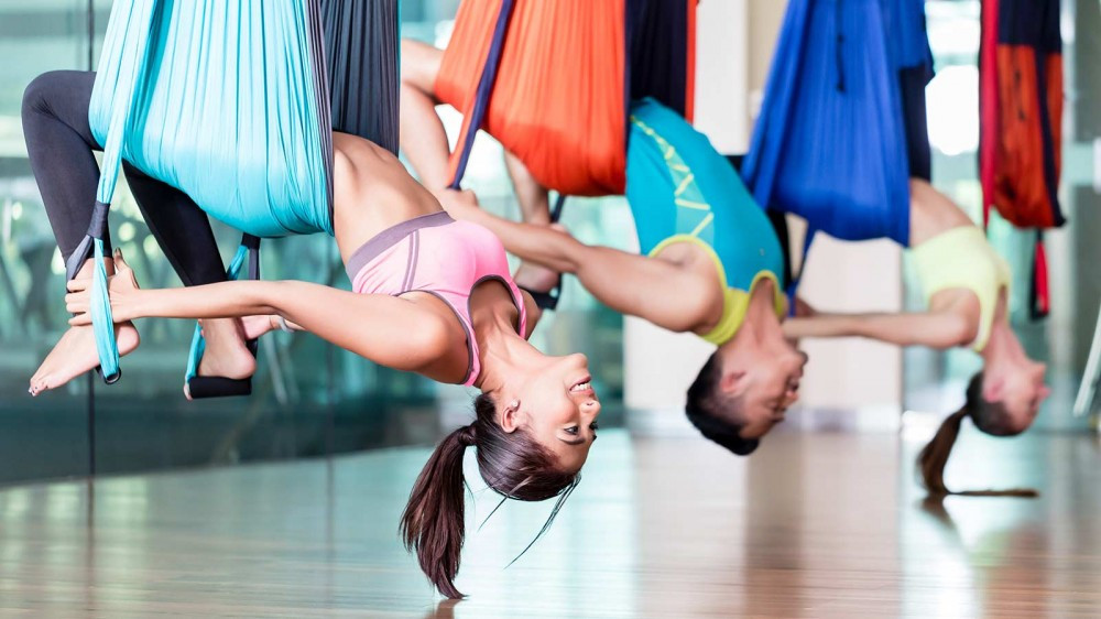 aerial yoga benefits